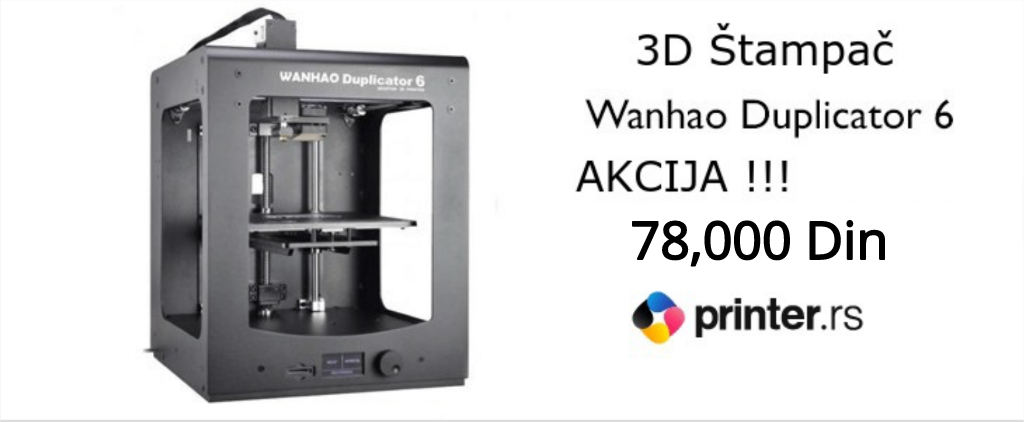 3D stampac Wanhao